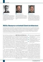 ROCA: Resource-oriented Client Architecture