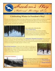 Winter 2013 Newsletter - Freedom's Way National Heritage Area