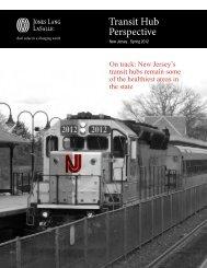 Transit Hub Perspective - Jones Lang LaSalle