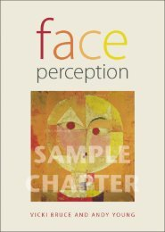 Face Perception - Routledge