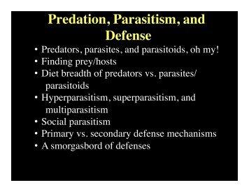 13-predation, parasitism, and defense