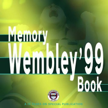 Wembley '99 Memory Book