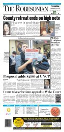Proposal adds $200 at UNCP - Amazon Web Services