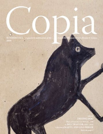 Copia Summer/Fall 2009 - Evansville Museum :: Arts • History ...