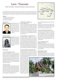 Laos - ThaiLand - RB Reise Beratung AG