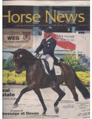 Horse News - September 2010 - Phelps Media Group
