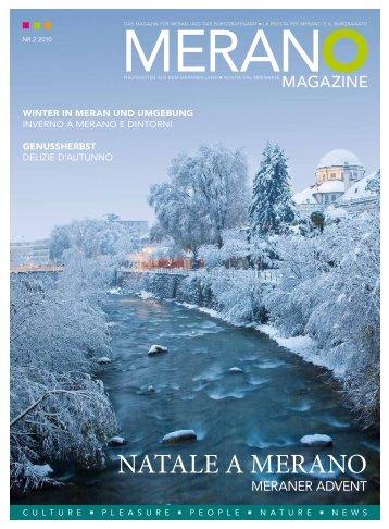 Merano Magazine - Winter 2010