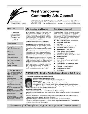 West Vancouver Community Arts Council