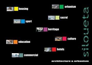 download PDF brochure - SILOUETA architecture - zorana sokol ...