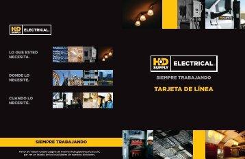 TARjETA DE LíNEA - HD Supply Electrical