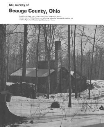 Soil Survey of Geauga County, Ohio - Soil Data Mart