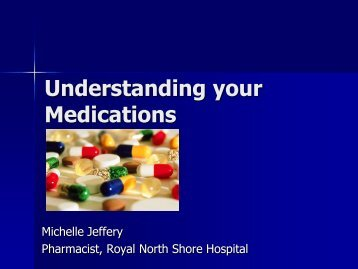 Understanding your Medications