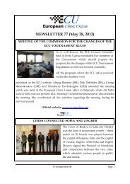 NEWSLETTER 77 (May 28, 2012) - lublin 2012