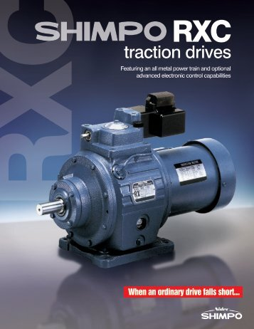 traction drives - Houston Bearing and Supply