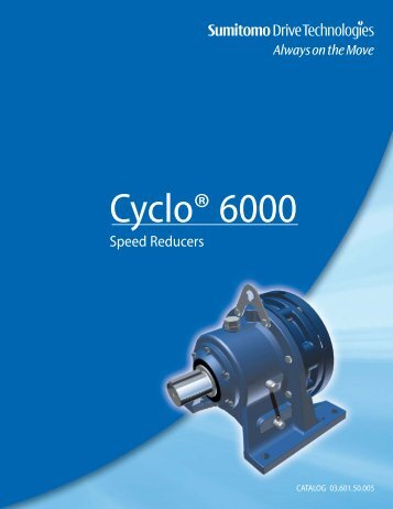Cyclo® 6000 - Akron Gear and Engineering Inc.