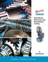 Shaft Mount, Worm Gear and Bevel Catalog - Form - Emerson ...