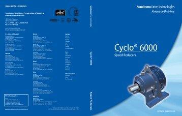 Cyclo® 6000 - Sumitomo Drive Technologies