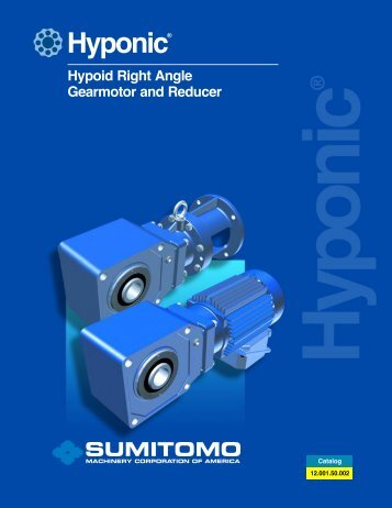 cover Hyponic catalog.qxd - Akron Gear and Engineering Inc.