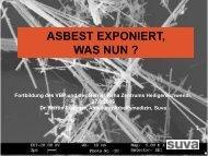 für Asbest - Berner Reha Zentrum