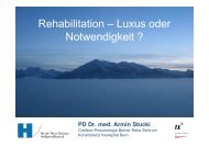 Rehabilitation - Berner Reha Zentrum