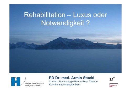 Rehabilitation - Berner Reha Zentrum