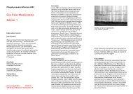SZENE 1/3 als PDF - Pfingstsymposion