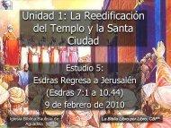 Esdras regresa a Jerusalén - Iglesia Biblica Bautista de Aguadilla ...