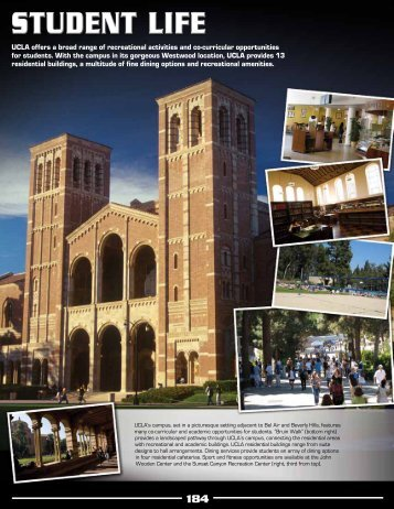 UCLA offers a broad range of recreational activities ... - Community