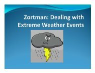 Zortman: Dealing with Extreme Weather Events - Montana Tech of ...