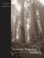 Journey Together Faithfully, Part Two - Evangelical Lutheran Church ...