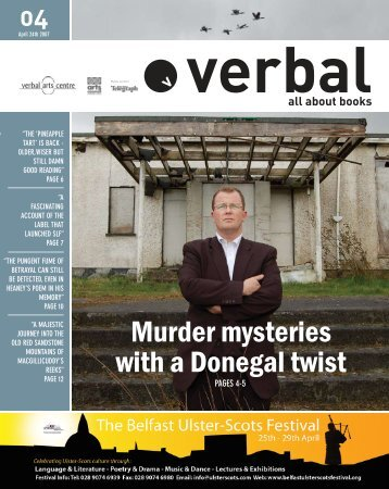Murder mysteries with a Donegal twist - The Verbal Arts Centre