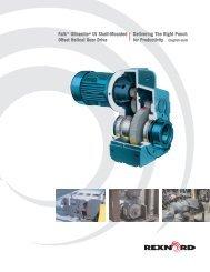 Falk™ Ultramite® UJ Shaft-Mounted Offset Helical Gear - Rexnord