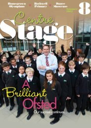 Centre Stage Summer 2012 - The Rodillian Academy