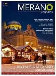 Merano Magazine - Winter 2009