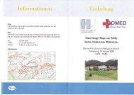 Einladung - Berner Reha Zentrum