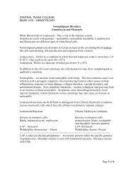 HEMATOLOGY Nonmalignant Disorders Granulocyte and Monocyte ...