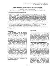 Effect of Psidium guajava Linn. leaf extract on - Nshm.com
