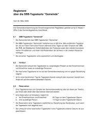 Reglement Tageskarten - Gemeinde Reigoldswil