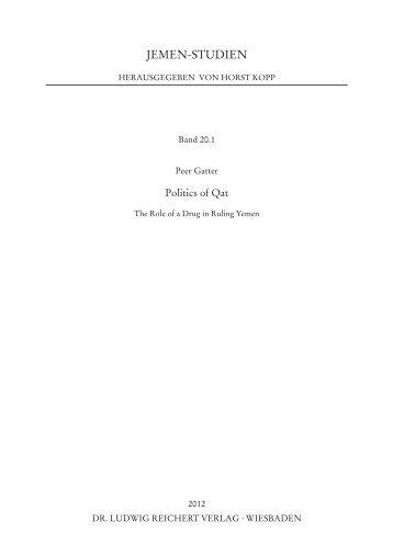 Index of the Book - Qat in Yemen