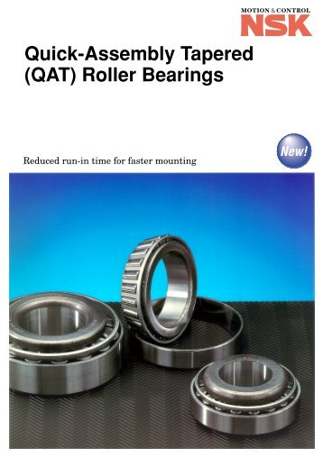 Quick-Assembly Tapered (QAT) Roller Bearings