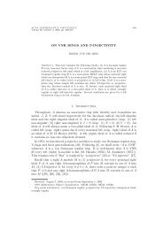 ON VNR RINGS AND P-INJECTIVITY 1. Introduction Throughout, A ...