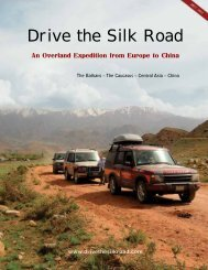 Drive the Silk Road - Overland Travel