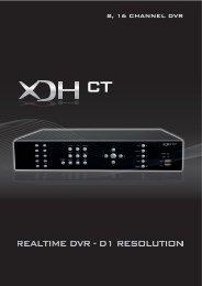 8, 16 channel dvr - CCTV Direct
