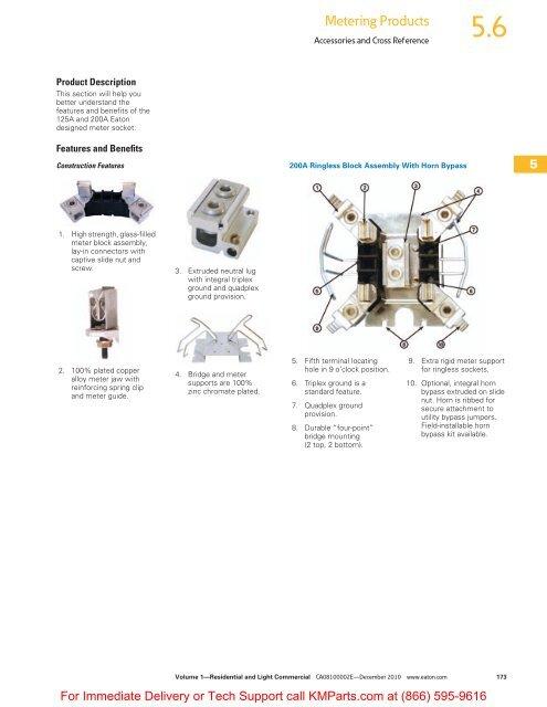 Accessories and Cross Reference - Klockner Moeller Parts