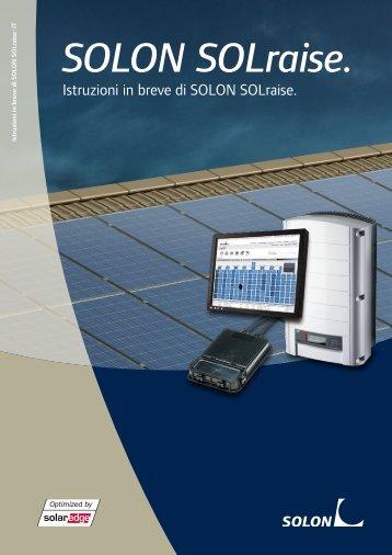 Download Istruzioni In Breve Di Solon Solraise PDF