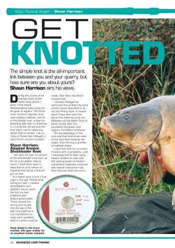 Get Knotted - Quest Baits
