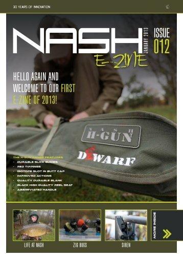 E-ZINE - Nash Tackle