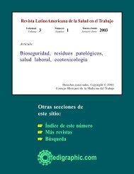 Bioseguridad, residuos patológicos, salud laboral, ecotoxicología