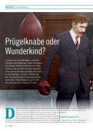 Aktuell: Prügelknabe oder Wunderkind? - FACTS Verlag GmbH