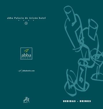 BEBIDAS - DRINKS - Abba Palacio de Arizón